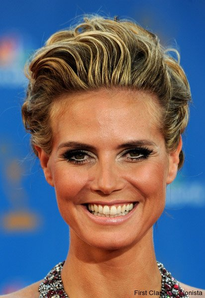 heidi klum hairstyles updos. Celebrity Updo Hairstyles on