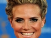 Heidi Klum Emmy Awards Red Carpet Hairstyle 2010