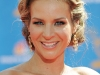 Jessalyn Gilsig Emmy Awards Red Carpet Hairstyle 2010