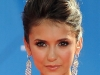 Nina Dobrev Emmy Awards Red Carpet Hairstyle 2010