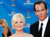 Amy Poehler and Will Arnett on Emmy Awards Red Carpet