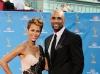 Boris Kodjoe and Wife on Emmy Awards Red Carpet