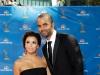 Eva Longoria and Tony Parker on Emmy Awards Red Carpet