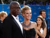Heidi Klum and Seal on Emmy Awards Red Carpet