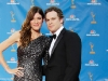 Jennifer Carpenter and Michael C Hall on Emmy Awards Red Carpet