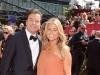 Jimmy Fallon and Nancy Juvonen on Emmy Awards Red Carpet