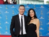 Mathew Fox and Margherita Ronchi on Emmy Awards Red