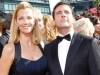 Steve Carrell and Guest on Emmy Awards Red Carpet 2010