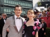 Ty Burrell and Guest on Emmy Awards Red Carpet 2010