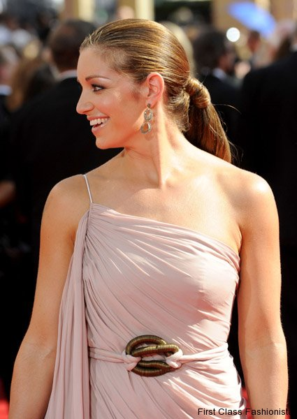 emmy awards 2010 red carpet hairstyles for long hair