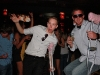 Fun With Crutches at LoDo Magazine Launch Party