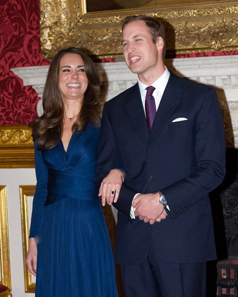 william and kate engagement photos official. Prince William Engagement: