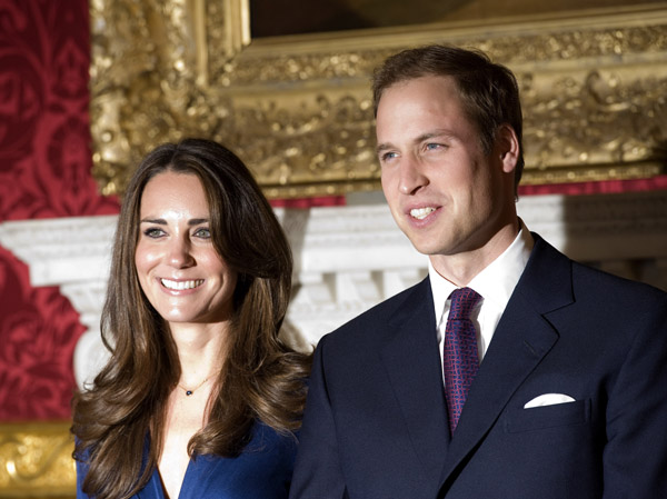 prince william kate middleton engagement photos. of Prince William and Kate