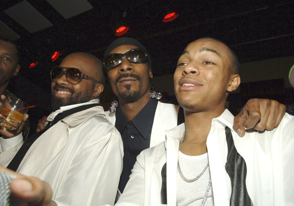 Jermain Dupri, Snoop Dogg and Bow Wow