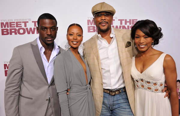 Lance Gross, Eva Pigford, Tyler Perry and Angela Basset