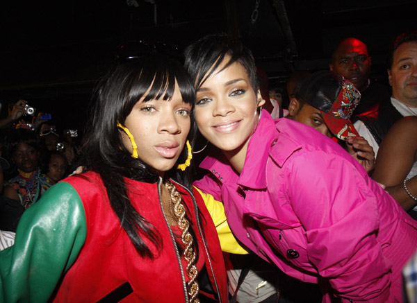 Lil Mama and Rihanna