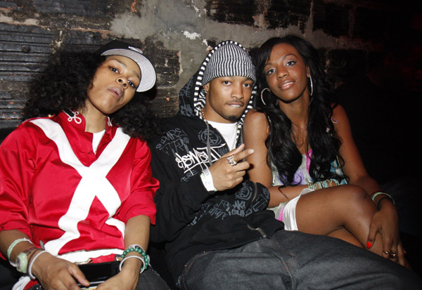Teyana Taylor, Qwanell of Day26 and Dawn Richard