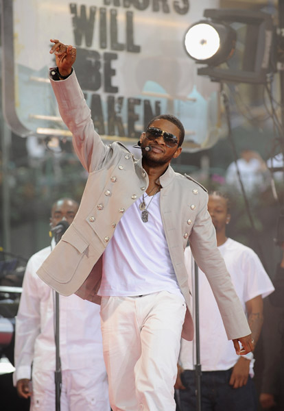 Usher at Bryant Park