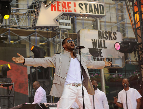 Usher on Good Morning America