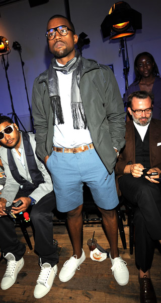 Kanye West at Paris Fashion Week On Sunday, June 29, 2008, rapper Kanye West was spotted at Lanvin Fashion Show in Paris, France. Okay, Kanye. We all know that he […]