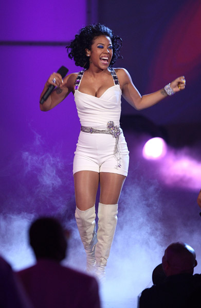 Keyshia Cole hairstyle pictures