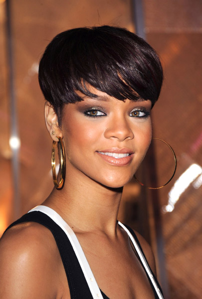 rihanna's eye color