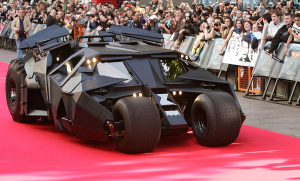 the dark knight batmobile