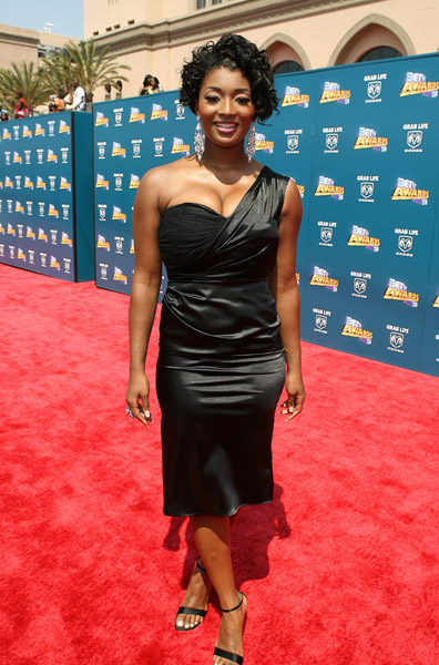 Toccara Jones' Red Carpet Hair and Dress- BET Awards 2008 Toccara Jones works her look on the red carpet of the BET Awards 2008 in the Shrine Auditorium June 24, […]