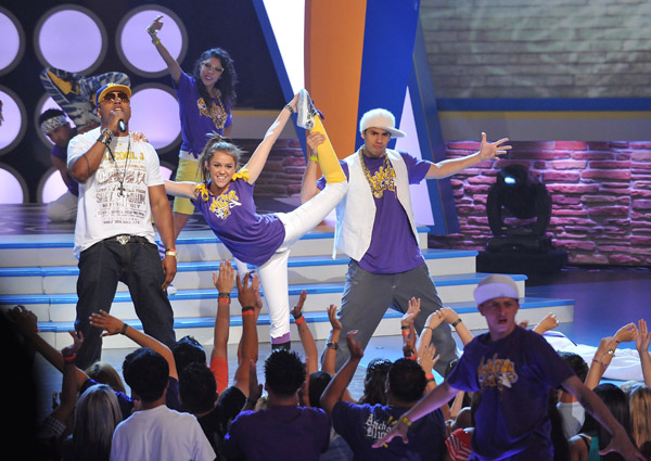 L.L. Cool J and Miley Cyrus