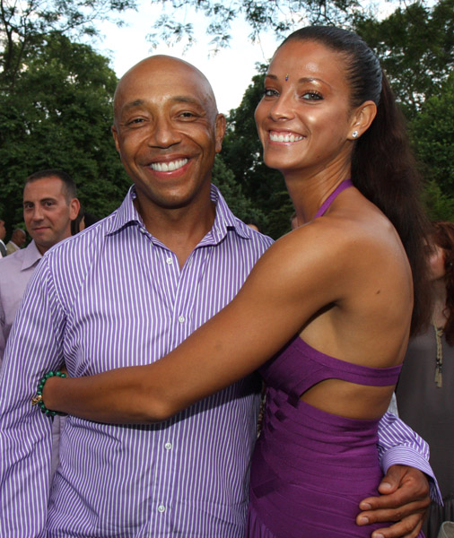 Russell Simmons and Porchla Coleman