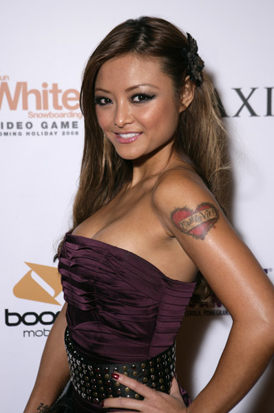 Tila TelquilaArm Tattoo Tila Tequila from A Shot at Telquila attended the