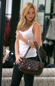 Blake Lively Holding Chanel Handbag