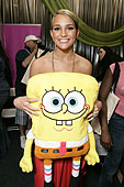 Jamie Lynn Spears and Spongebob