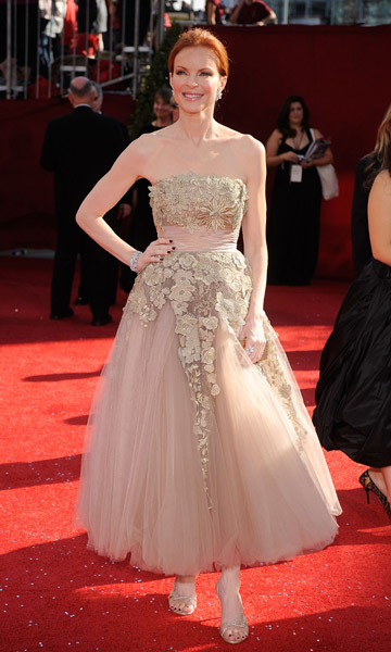 Marcia Cross on Emmy Awards Red Carpet