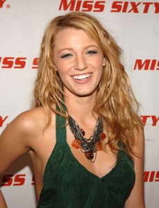 Blake Lively Miss Sixty Spring Fashion Show
