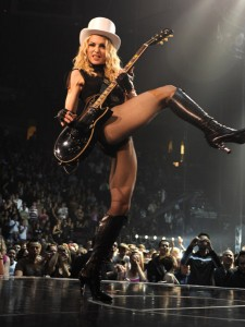 50 Year Old Madonna Has Great Legs