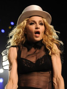 Madonna Shows off Her Palliates Arms