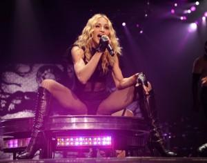 Trashy 50 year old Madonna Photo