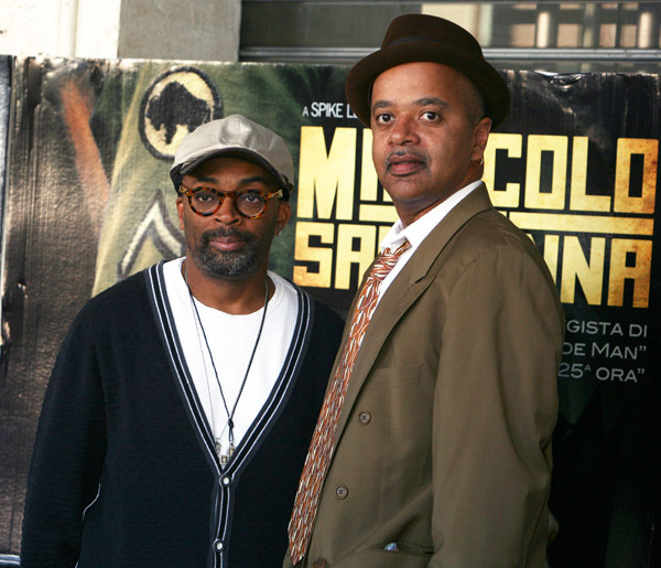 "Spike Lee with Miracle at St. Anna writer James McBride at the Italian photocall for the film ""Miracle at St. Anna"" in Rome, Italy on September 29, 2008. ""Miracle at […]"