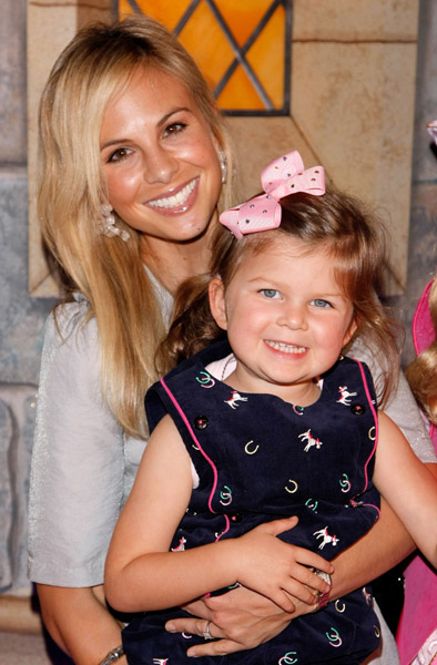 Elisabeth Hasselbeck and Daughter Grace