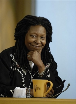 Whoopi Reaction to President Elect Obama