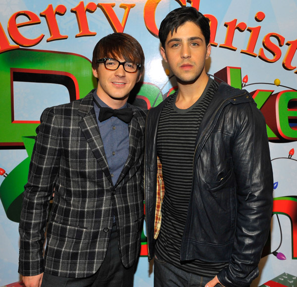 Drake and Josh at Premier of Merry Christmas, Drake and Josh