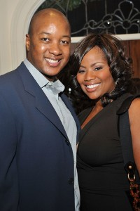 Real Housewive's Deshawn Snow and Husband Eric Snow