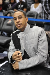 Ludacris at NBA Game