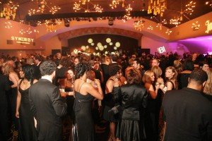 Pic of Nelly's 3rd Annual Black and White Ball