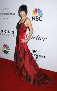 Bai Ling's Golden Globe Awards Dress