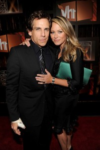 Ben Stiller and wife