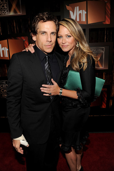 ben-stiller-and-wife-actress-christine-taylor1   First ...