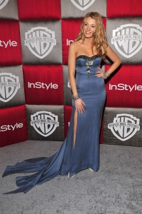 Blake Lively's Golden Globe Awards Dress