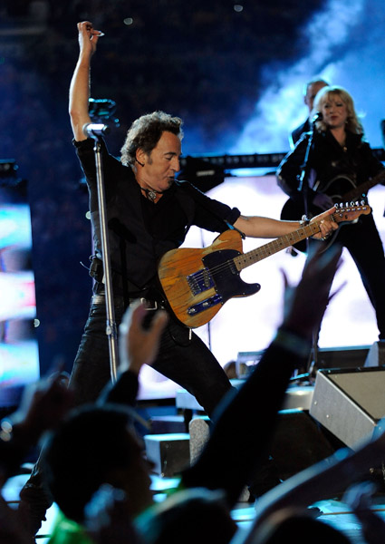 Bruce Springsteen misreads the national mood in his halftime performance.